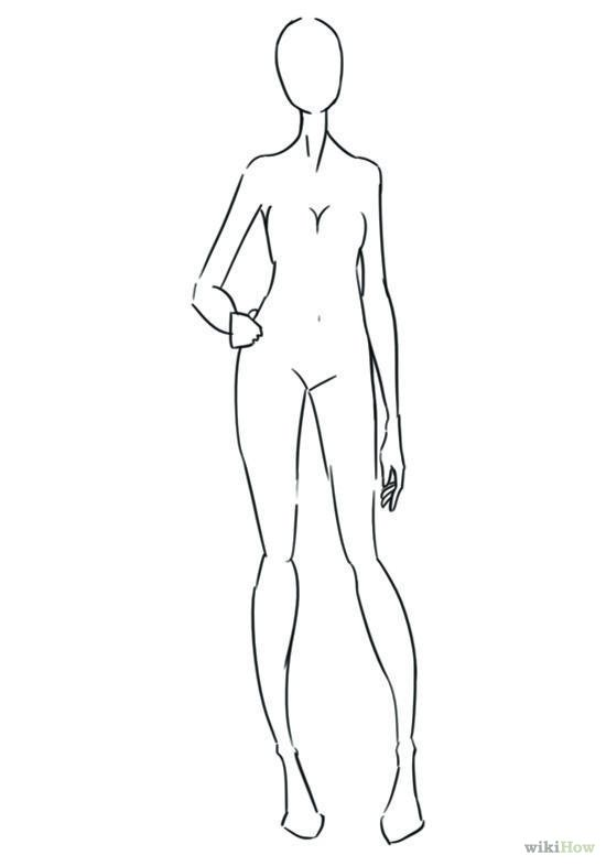 Fashion Body Drawing Step By Sketch Template Fashion Drawing Fashion Illustration Fashion Design Portfolio