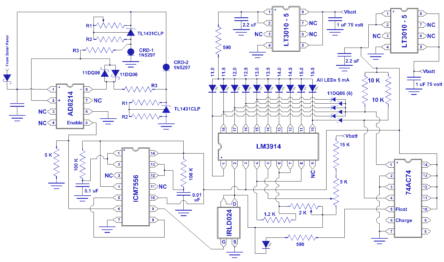 Solar Charge Controller Circuit Diagram simplempptsolar