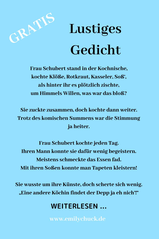 Bei Schuberts Vormittags Halb Elf Lustiges Gedicht Zum Vorlesen In 2020 Witzige Gedichte Lustige Gedichte Lustige Kurzgeschichten