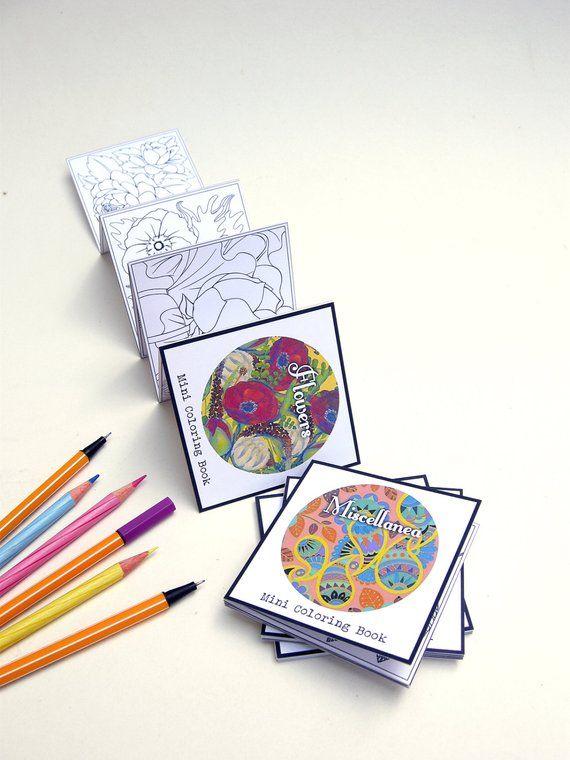Swell Mini Adult Coloring Books Pocket Size Coloring Book Interior Design Ideas Tzicisoteloinfo