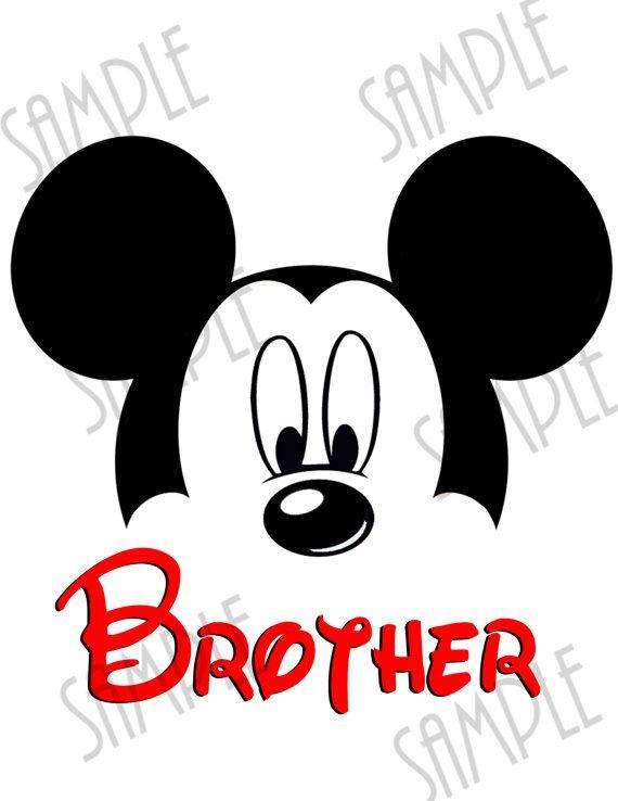 T-shirt Disney Minnie Mouse ears Iron On Transfer Printable Disney
