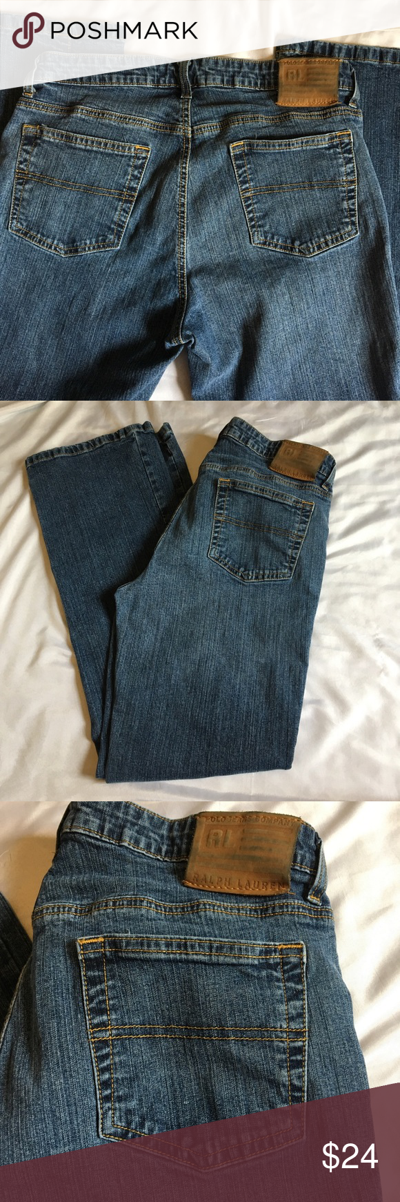 Vintage Ralph Lauren Kelly Stretch Jeans Clothes Design Lauren