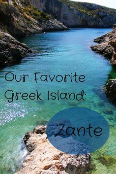 Greece's most precious treasure is probably its beautiful islands. And Zakynthos is the most beautiful of all we've seen so far!