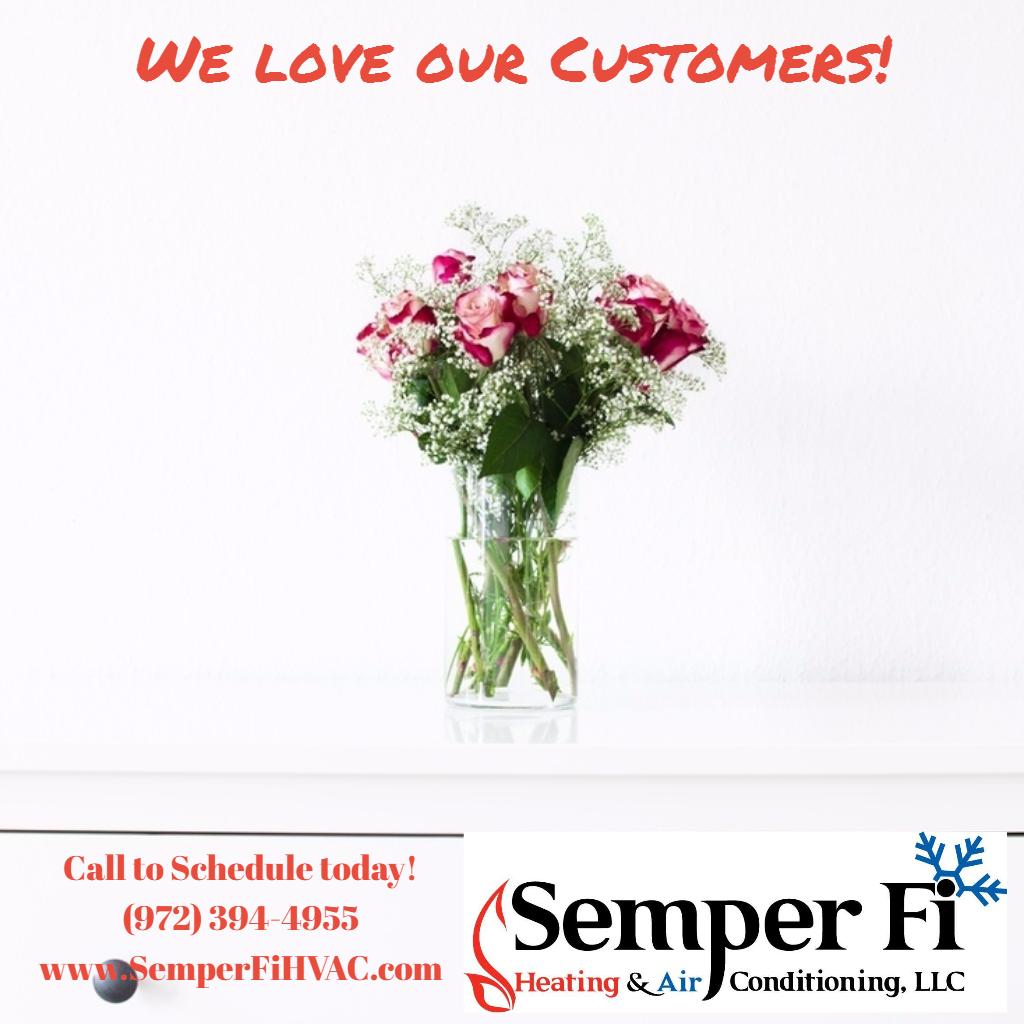 We Love Our Customers Semperfihvac Branding Kit Branding Gap