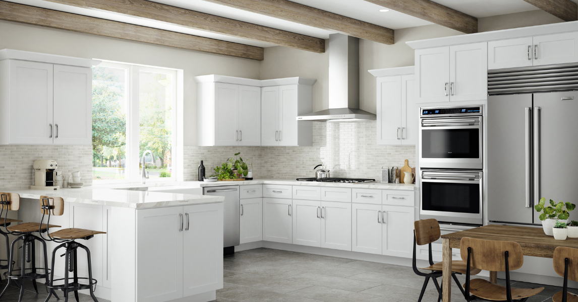 What Are Shaker Kitchen Cabinets, And Why Are They So Popular? #whiteshakercabinets