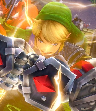 Hyrule Warriors ....Link is having a little too much fun lol