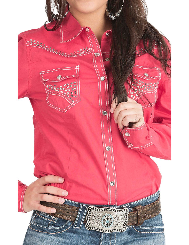 47f4e138 Ladies Western Shirts With Rhinestones - DREAMWORKS