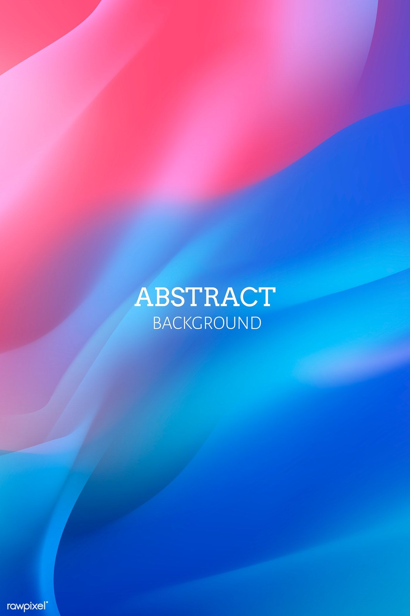 Vibrant Red Abstract Background Vector Free Image By Rawpixel