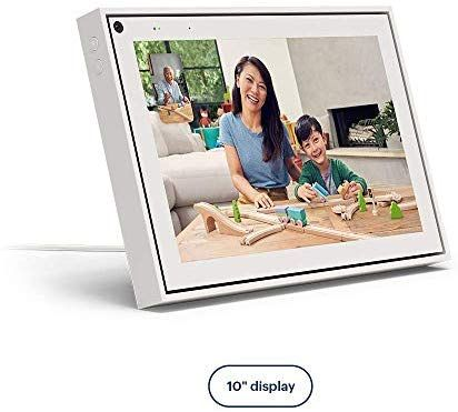 "Amazon.com: Facebook Portal Smart Video Calling 10"" Touch Screen Display with Alexa White: Computers & Accessories #touchscreendisplay"