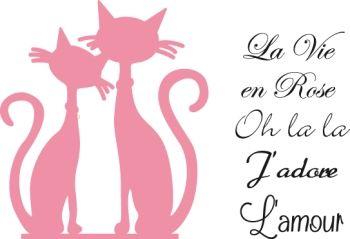 nr40. katten la vie en rose