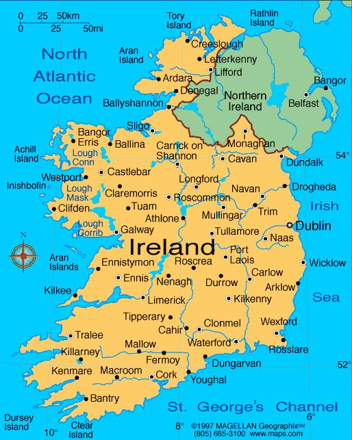 Vision Board I Will Vacation In Ireland Ireland Map