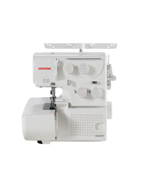 The 8002D serger provides professional results at an extraodinary value. This 3 and 4 thread convertible serger cuts, sergers and finishes seams in one quick and easy motion. The external color coded tension dials allow for easy threading and the rolled hem changeover device makes it easy to convert to a rolled hem. You'll love the difference the 8002D will make in your sewing!