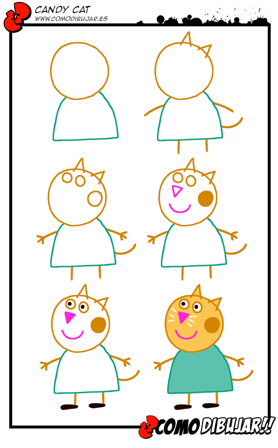 Como dibujar tutoriales de dibujo aprende a dibujar - Como pintarse bien ...