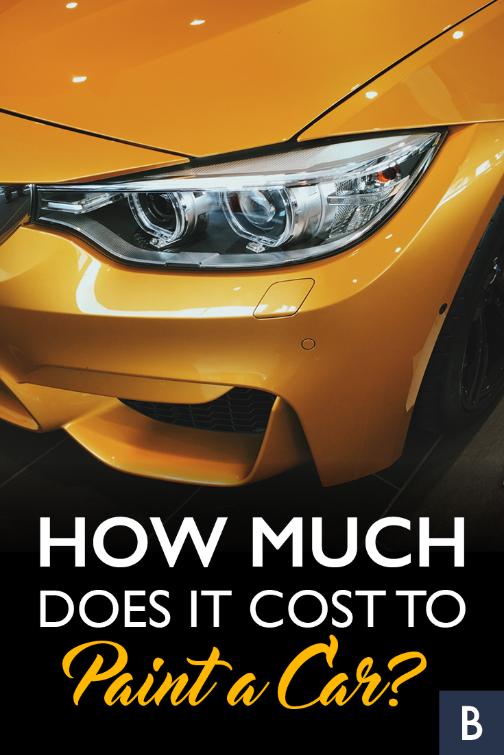 Cost To Paint A Car >> How Much Does It Cost To Paint A Car Everything Auto