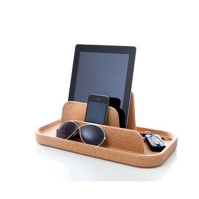 un vide poche original doubl d 39 une fonctionnalit de support pour tablette ou smartphone id al. Black Bedroom Furniture Sets. Home Design Ideas