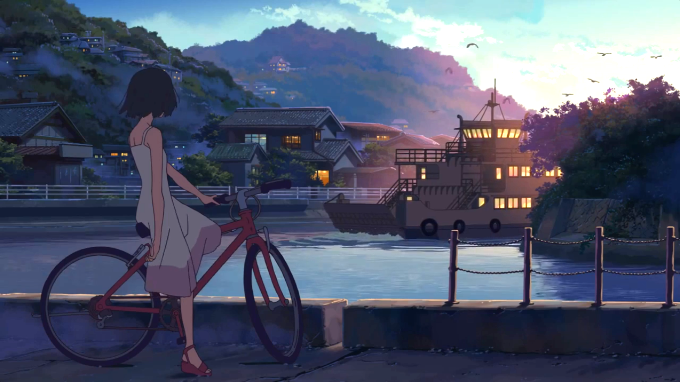 Makoto Shinkai Anime scenery, Aesthetic anime