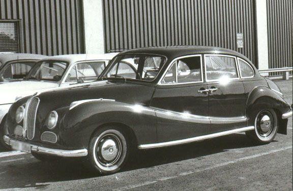 1952 BMW 501 Image | AUTOS BMW | Pinterest | BMW and Cars