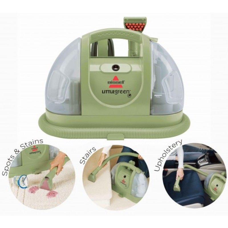 how to use bissell little green clean machine