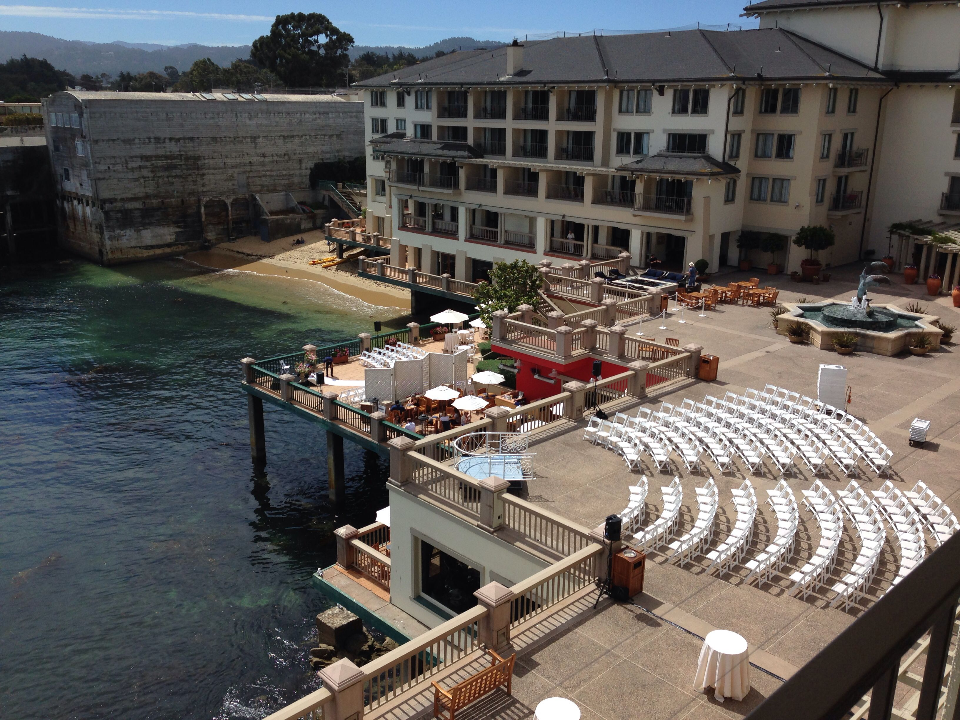 Monterey plaza hotel upper terrace august 30th, 2014