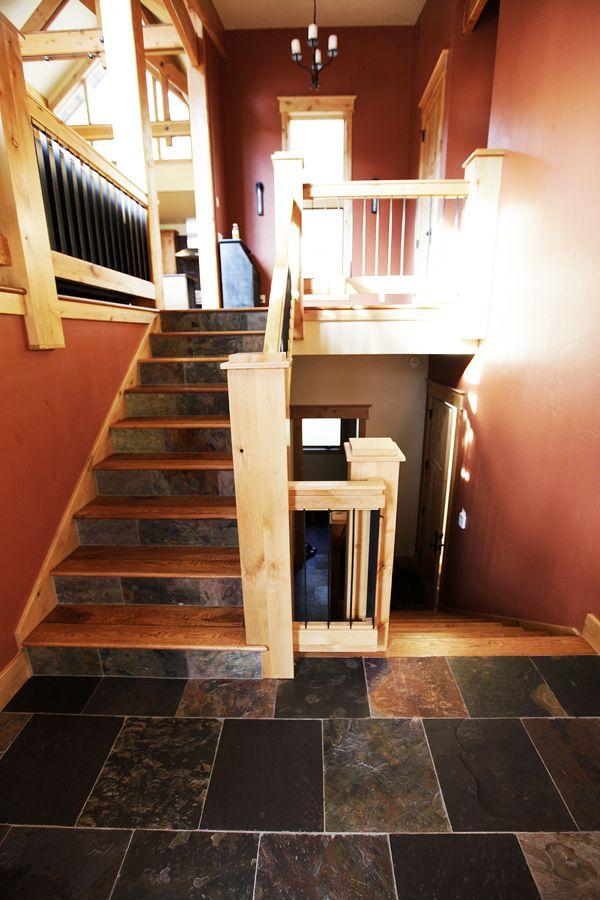 innen und au en bieten schiefer treppen viele. Black Bedroom Furniture Sets. Home Design Ideas