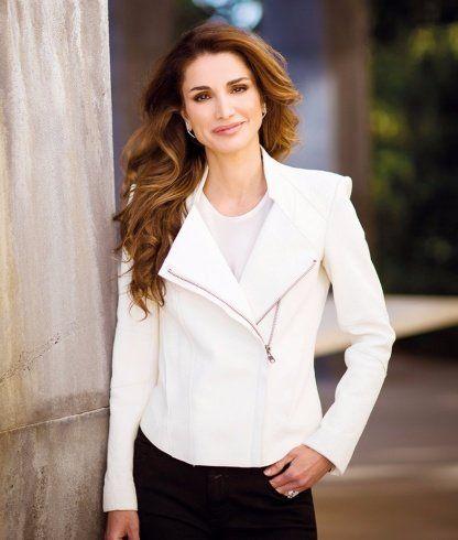 Queen Rania Jordan Tiara Fashion Magazine