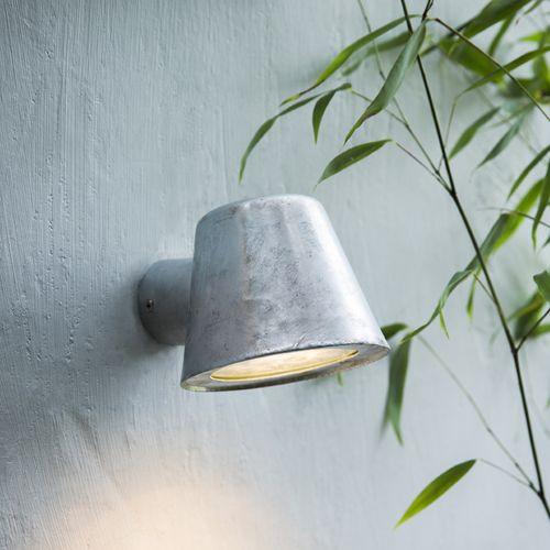 luminaire exterieur en zinc