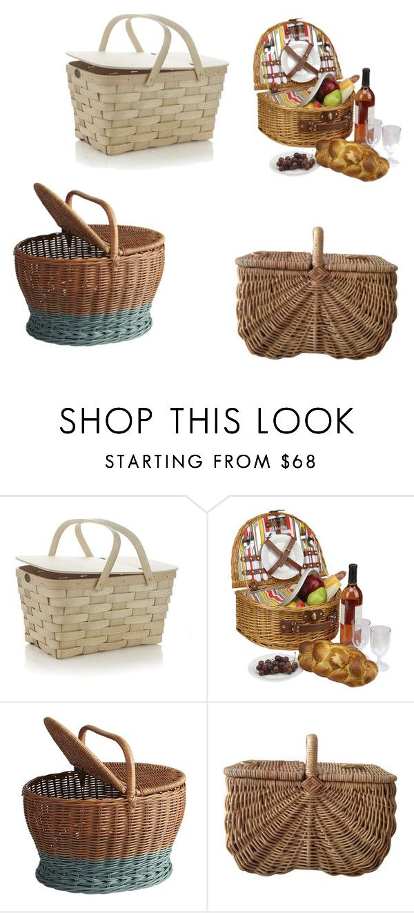 """""""cestas de picnic"""" by nan04-11 ❤ liked on Polyvore featuring beauty and Pier 1 Imports"""