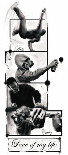 4 Elements Of Hip Hop By Bogdan Tellez Garcia At Coroflot Com