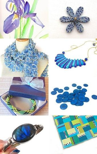 August Blues--Pinned with TreasuryPin.com