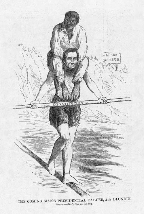 Ephemera Assemblyman Abraham Lincoln Political Cartoons Sin On My