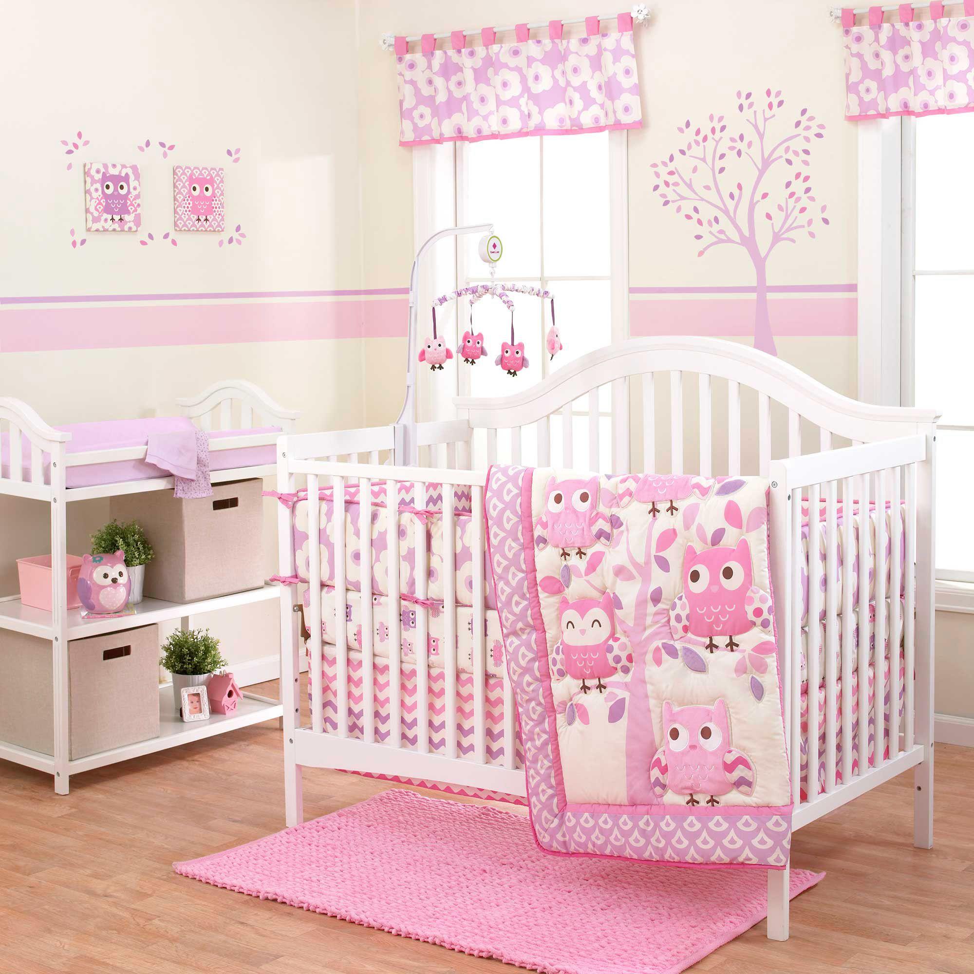 Dancing Owls Bedding By Belle Owl Baby Crib Bedding Bsbldo Set