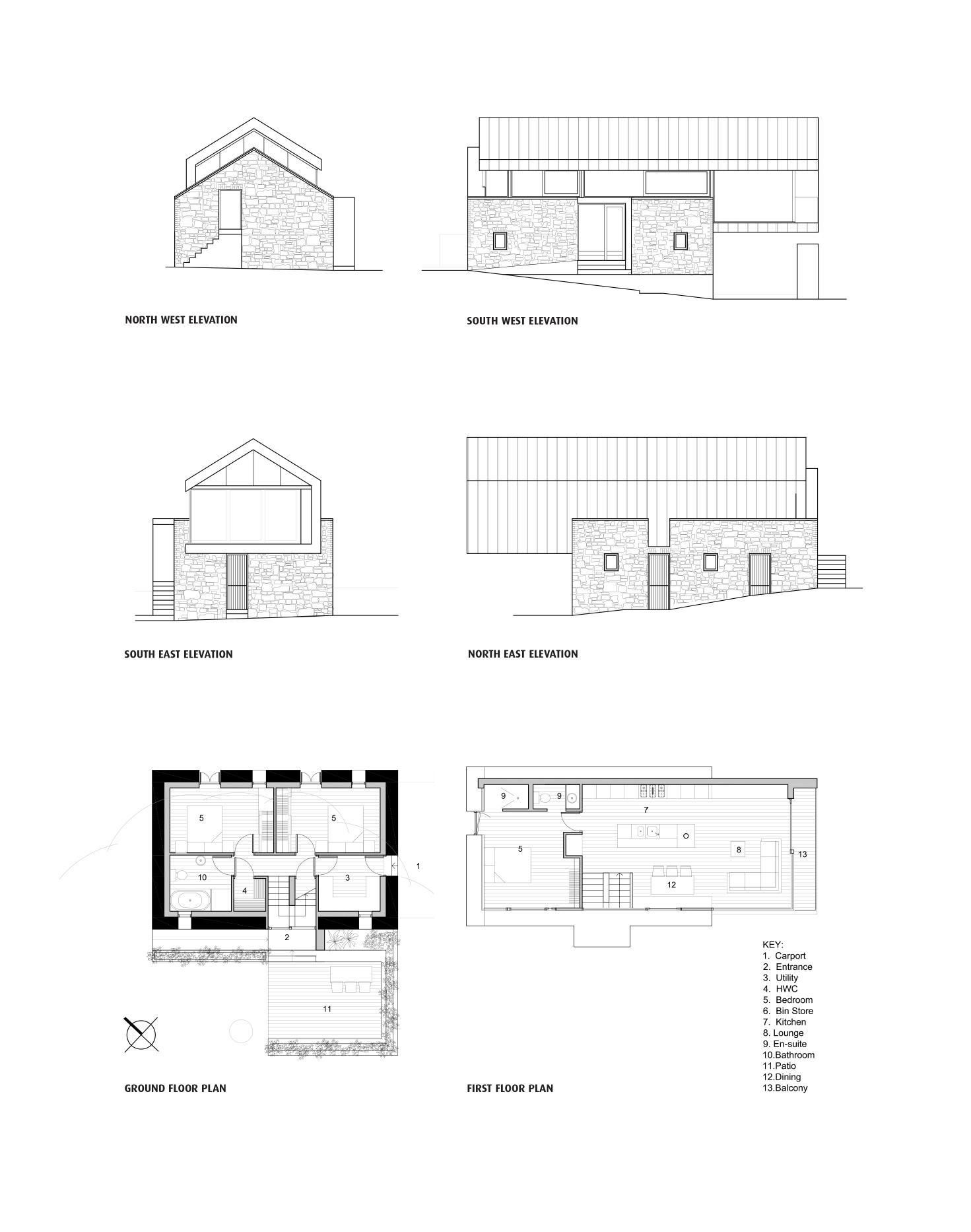 Loughloughan Barn Small modern house plans, Architecture