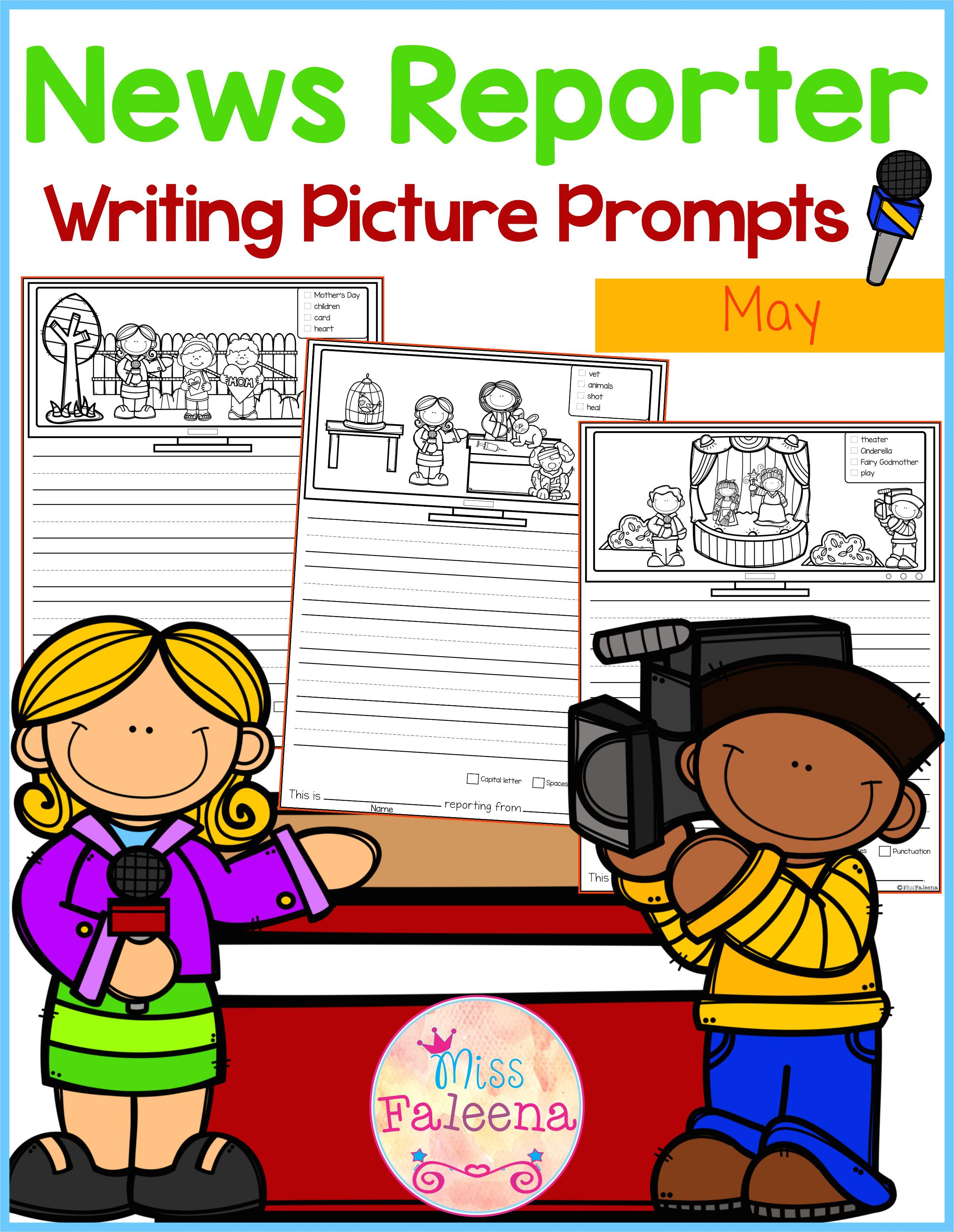 May Writing Picture Prompts