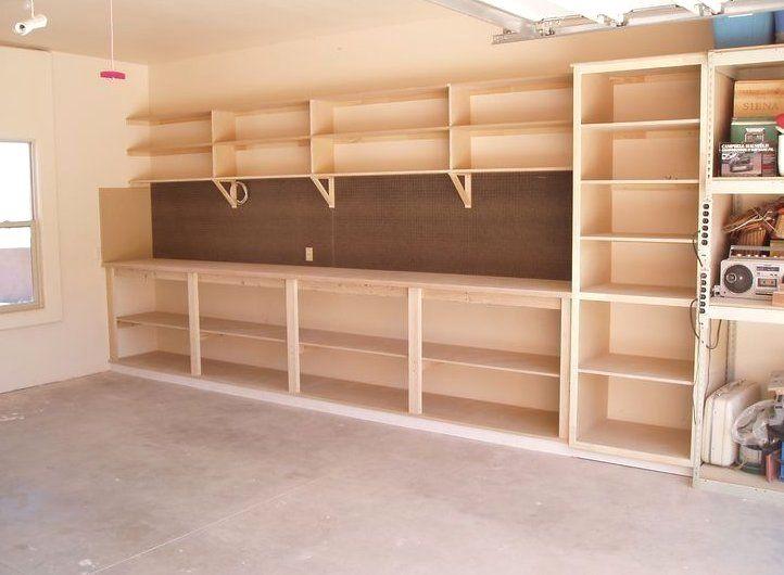 Garage Storage Workbench Garage Shelving Diy Garage Storage Garage Storage Shelves