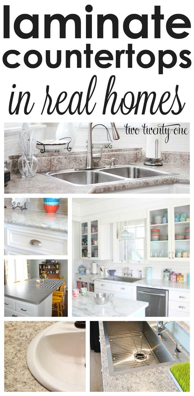 Laminate Countertops In Real Homes   Deko