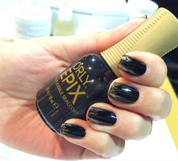 <p>Epix, Orly's brand of longer-lasting polish, launched at ISSE Long Beach 2015.</p>