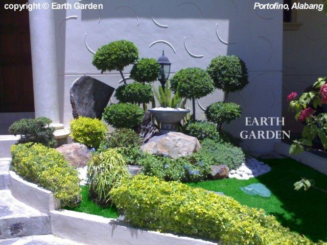 Jard n con arbolitos d arrayan el jard n de lucy for Arbolitos para jardines pequenos
