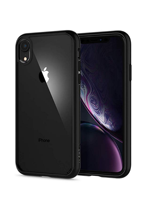 Spigen Ultra Hybrid Designed For Apple Iphone Xr Case 2018 Matte Black Apple Iphone Accessories Iphone Phone Cases Hybrid Design