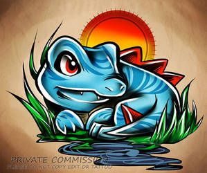 Ethan and Totodile by MysticallyME on DeviantArt
