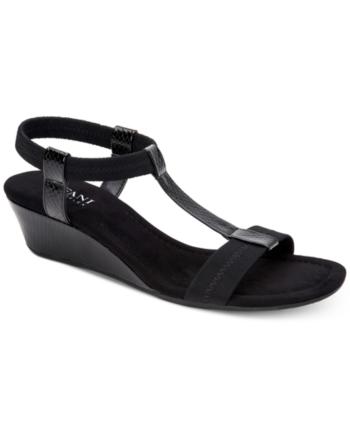 9395123870b Alfani Women s Step  N Flex Voyage Wedge Sandals