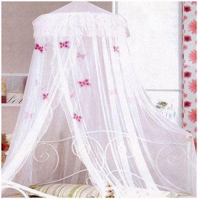 White Frill Butterflies Bed Net Double Bed Bedding Canopy Girls Kids Butterfly on eBay!  sc 1 st  Pinterest & White Frill Butterflies Bed Net Double Bed Bedding Canopy Girls ...