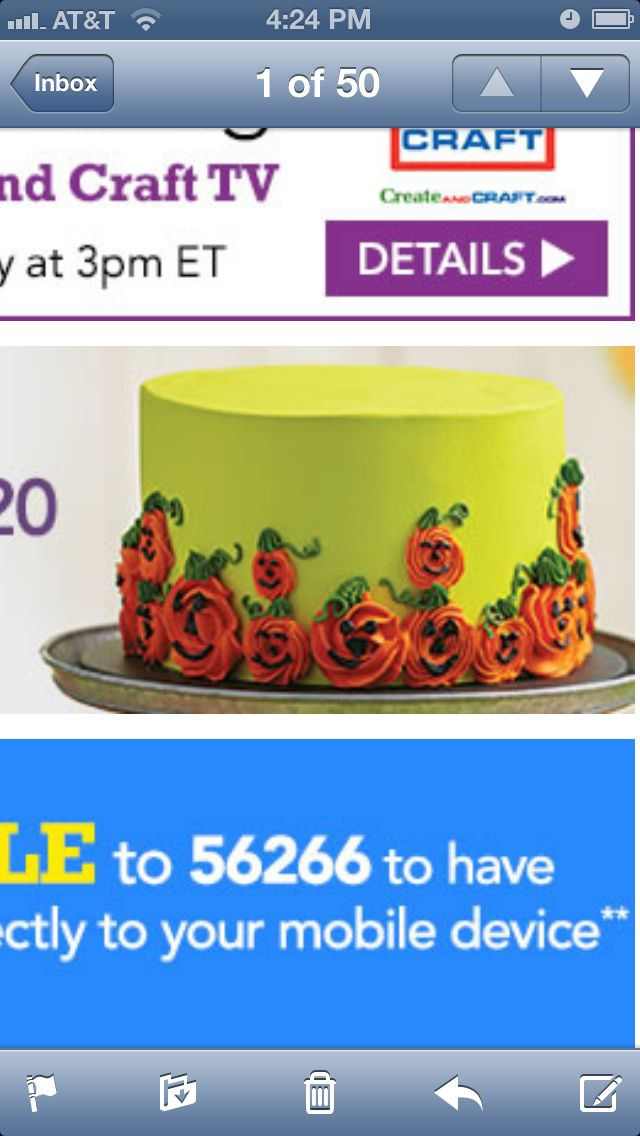 This is a JoAnn class. I want to make this for Fall without the faces.