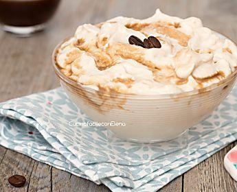 Crema al caffè leggera - Ricetta senza cottura panna e uova