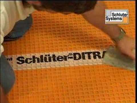 For Installing Tile Schluter 174 Ditra Uncoupling Membrane