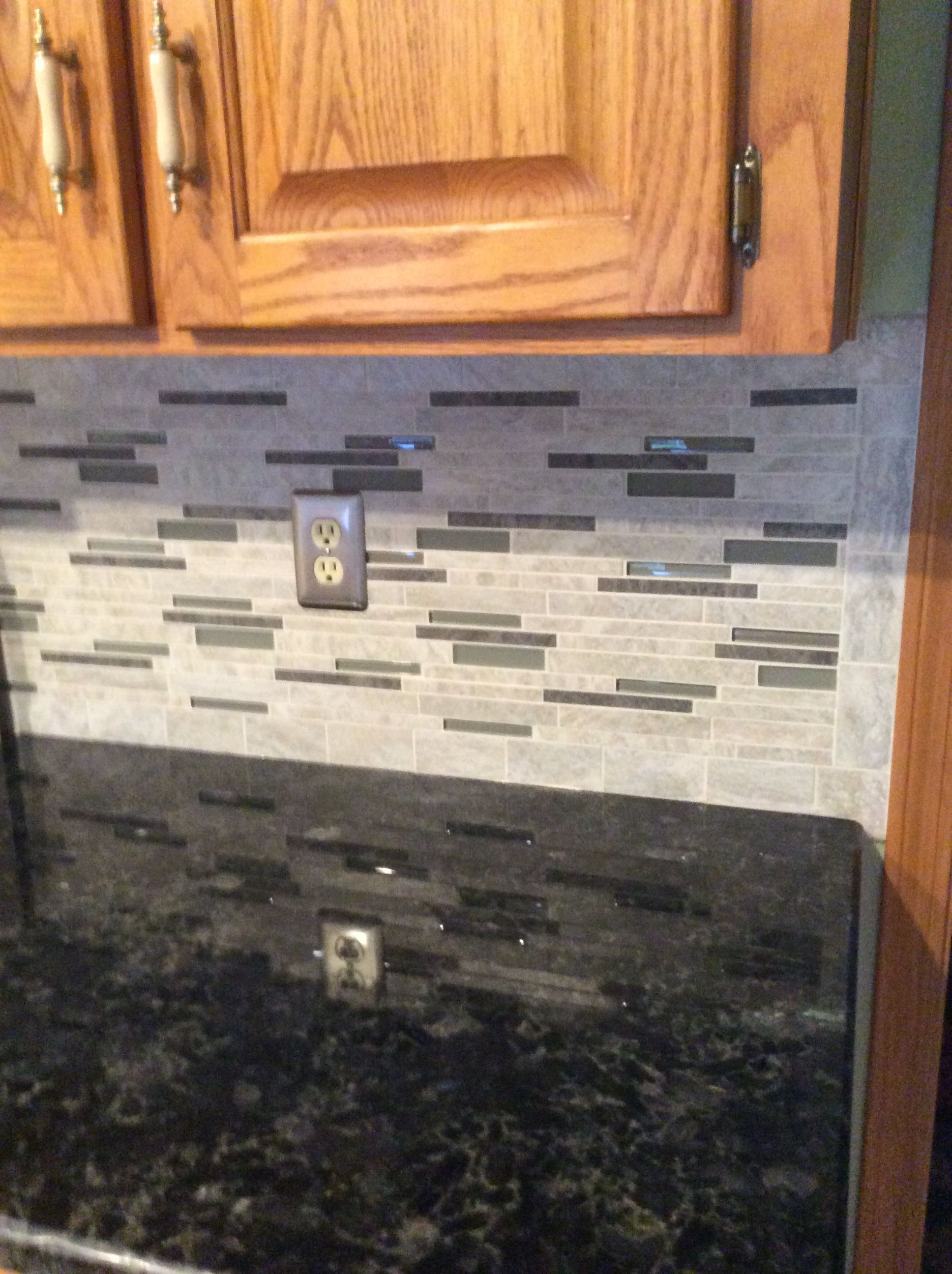 Backsplash Floriana Heather From Lowes Volga Blue Granite