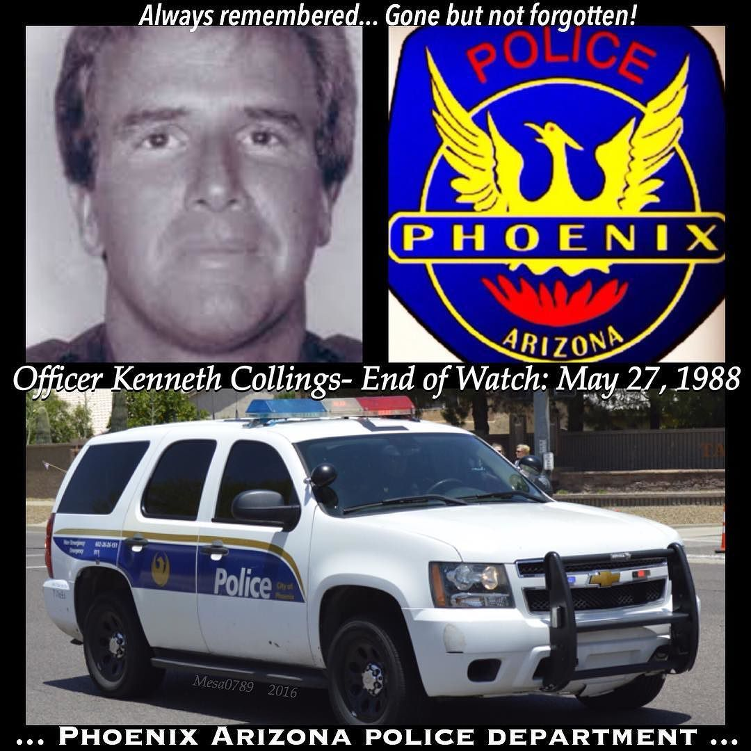Police Officer Collings Phoenix Police Department