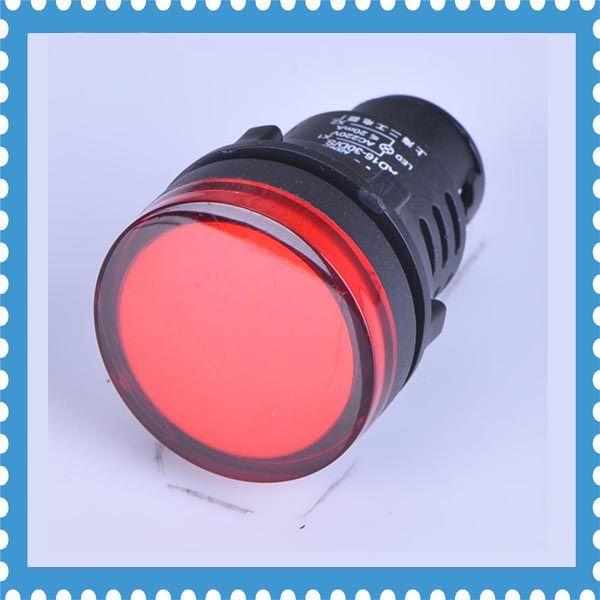 50pcs Pilot Lamp Ad16 30ds Led Indicator Lamp 24v Furniture Accessories Led Indicator Led