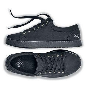 MOZO - Finn - Men s   Black - Slip-Resistant Chef Shoes - Shoes For Crews 891b3b71b