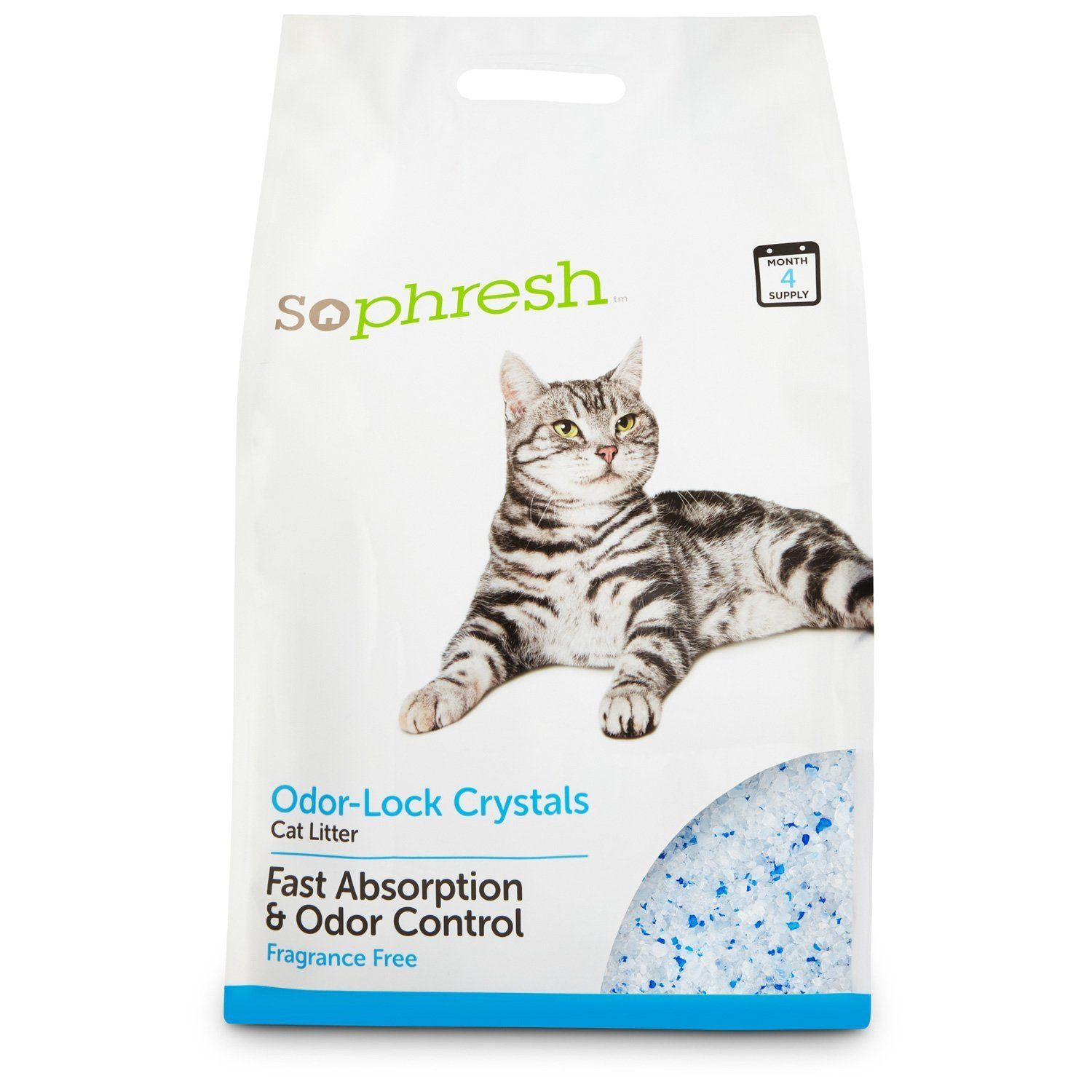 So Phresh Odor Lock Crystal Cat Litter 15 Lbs Hurry Check Out This Great Product Cat Litter Best Cat Litter Cat Litter Brands Cat Litter