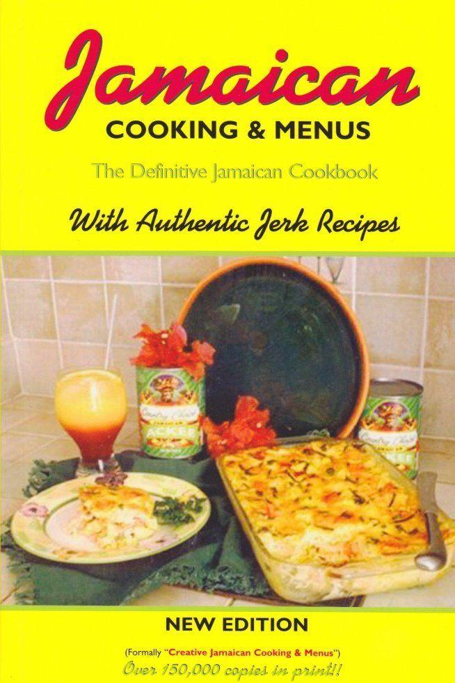 Jamaican Cooking & Menus - Book | Irie Books And More | Menu